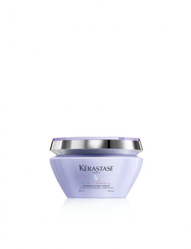 MASCHERA KÉRASTASE BLOND ABSOLU MASQUE ULTRA-VIOLET - 200ml