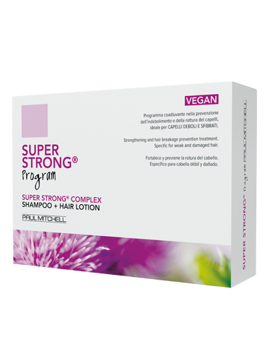Paul Mitchell Strenght Super Strong Program 12 fiale + Shampoo 300ml