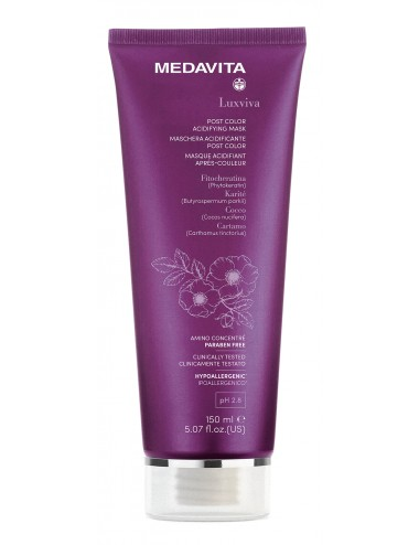 MEDAVITA  MASCHERA ACIDIFICANTE POST COLOR PH2.8 150ML